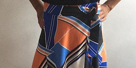 Intermediate sewing class (wrap around half circle skirt) (discount stitch25) tickets