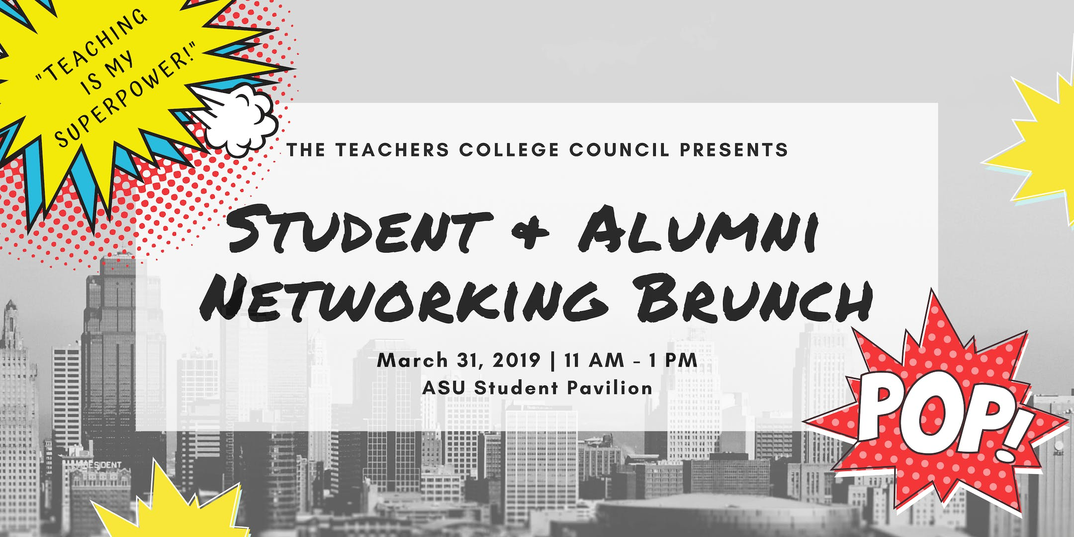 Teachers College Student & Alumni Networking Brunch 2019