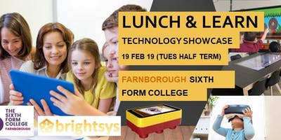 Free Lunch and Learn - Technology for Education Sector