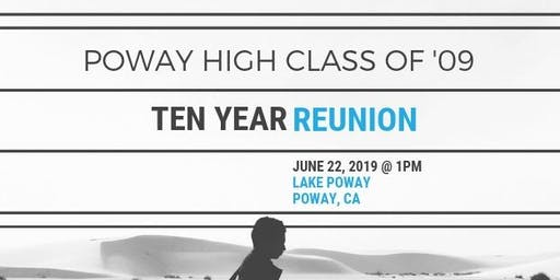 Poway High Class of '09 Reunion - 10 Years