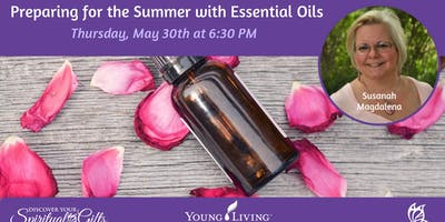 Preparing for the Summer with Essential Oils