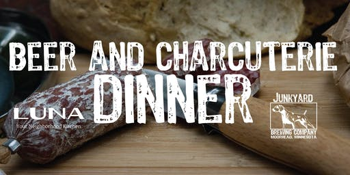 Beer & Charcuterie Dinner November 5th at Junkyard Brewing Co.