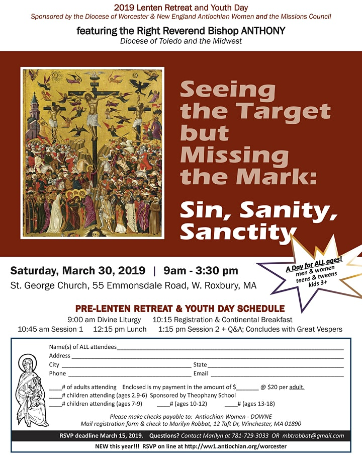 2019 Diocese Lenten Retreat & Youth Day image