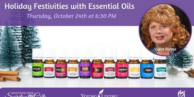 Holiday Festivities with Essential Oils