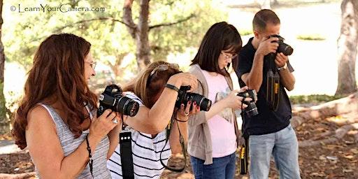 Palm Desert Beginner Digital Camera Class (Very small group)