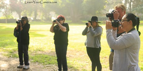 Van Nuys Beginner Digital Camera Photo class (+ Get OFF of Auto!) tickets