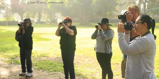 Van Nuys Beginner Digital Camera Photo class (+ Get OFF of Auto!)