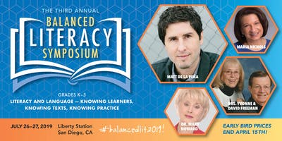 3rd Annual Balanced Literacy Symposium