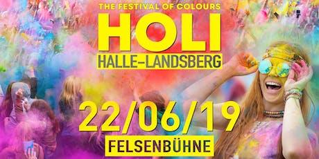 HOLI Festival Halle-Landsberg 2019 Tickets
