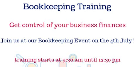 Bookkeping Training  tickets