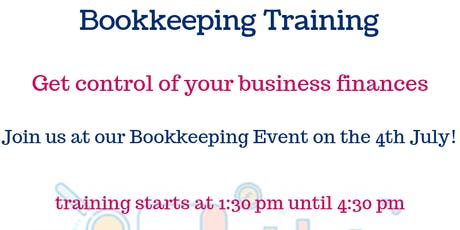 Bookkeepping Training tickets