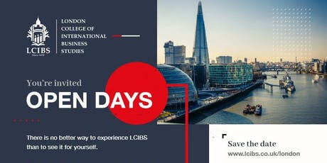 LCIBS Open Day - You're Invited tickets