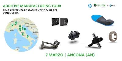 AM Tour: Rimas presenta le stampanti 3D di HP per l'industria