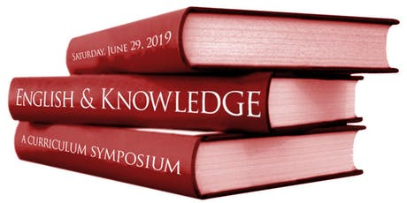 English and Knowledge: a curriculum symposium tickets