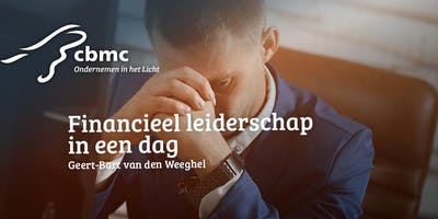 CBMC Workshop | Financieel Leiderschap in een dag | 4 oktober 2019
