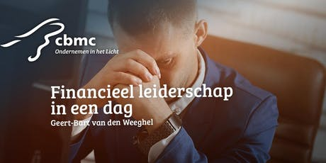 CBMC Workshop | Financieel Leiderschap in een dag | 4 oktober 2019 tickets
