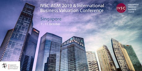 IVSC AGM (followed by IVSC/IVAS Business Valuation Conference 2019) tickets