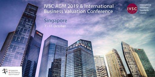 IVSC AGM (followed by IVSC/IVAS Business Valuation Conference 2019)