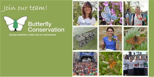 Butterfly Conservation Charity Place - SimplyHealth Great North Run 2019