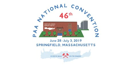 46th PAA Convention Pancretan Association of America tickets