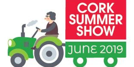 Cork Summer Show 2019 tickets