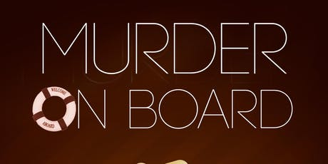 """Murder On Board"" free book launch tickets"