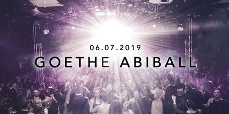 Abiball des Goethe Gymnasiums 2019 Tickets