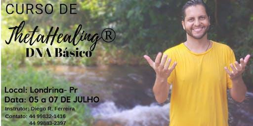 Curso Thetahealing Dna Básico- Londrina- 05 a 07 de Julho 2019