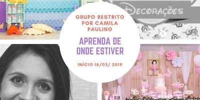 Grupo Restrito com Camila Paulino