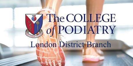 Monthly Meeting - Ankle rehab - Geraldine Dutta-Gupta, Physiotherapist tickets