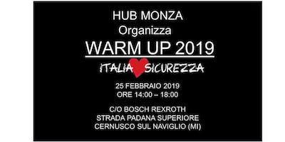 WARM UP ITALIA LOVES SICUREZZA - HUB MONZA E MILANO