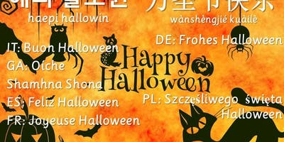 Halloween is even SCARIER in French, Spanish, German, Italian, German and Polish...!!!