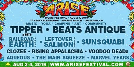 ARISE Music Festival August 2-4, 2019 tickets