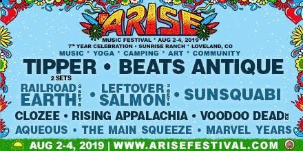 ARISE Music Festival August 2-4, 2019