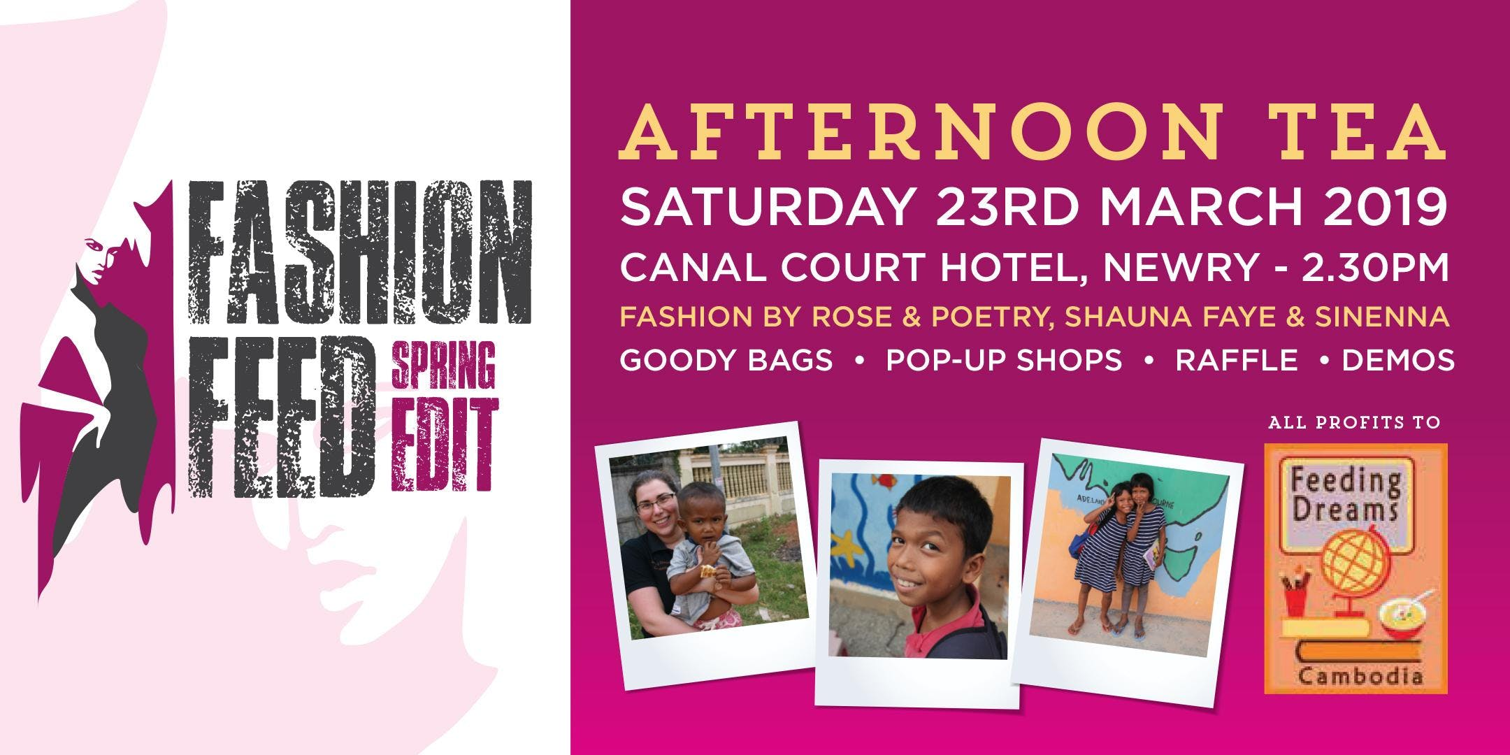 Newry Fashion Feed for Feeding Dreams Cambodi