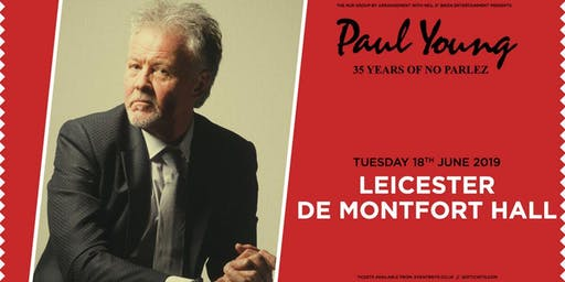 "Paul Young ""35 Years of No Parlez"" Pt 2 (De Montfort Hall, Leicester)"