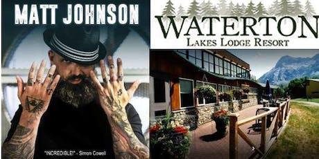 Room Packages for Matt Johnson, Master Magician tickets
