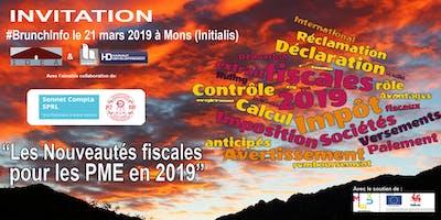 """#BrunchInfo: \""""Les nouveautés fiscales pour les PME en 2019\"""""""