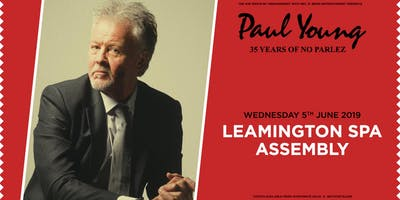 "Paul Young ""35 Years of No Parlez"" Pt 2 (The Assembly, Leamington Spa)"