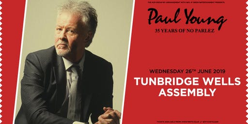 "Paul Young ""35 Years of No Parlez"" Pt 2 (Assembly, Tunbridge Wells)"