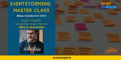 EventStorming Master Class - October 2019 (Milan)
