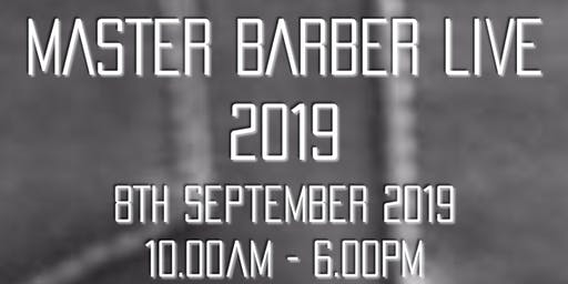 THE MASTER BARBER LIVE SHOW 2019
