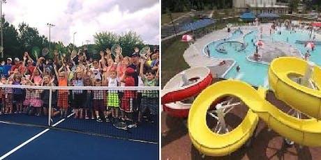 Tennis & Water Park Camp @ Wild Horse Creek - Summer 2019 tickets