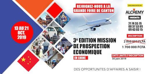 MISSION DE PROSPECTION ECONOMIQUE EN CHINE - FOIRE DE CANTON