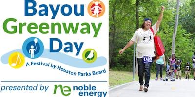 Bayou Greenway Day 2019
