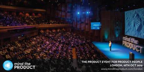 Mind the Product London 2019 tickets