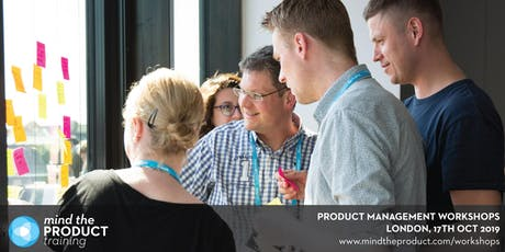 Mind the Product London 2019 Workshops tickets