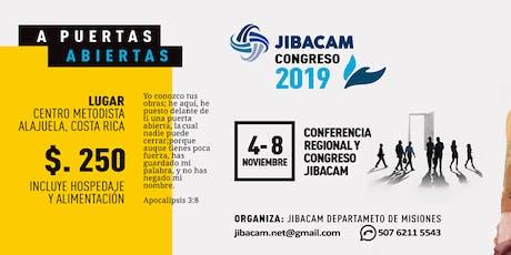 Congreso JIBACAM 2019: A PUERTAS ABIERTAS  entradas