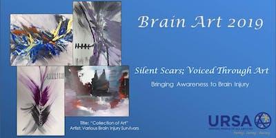 URSA Brain Art 2019 - Silent Scars; Voiced Through Art