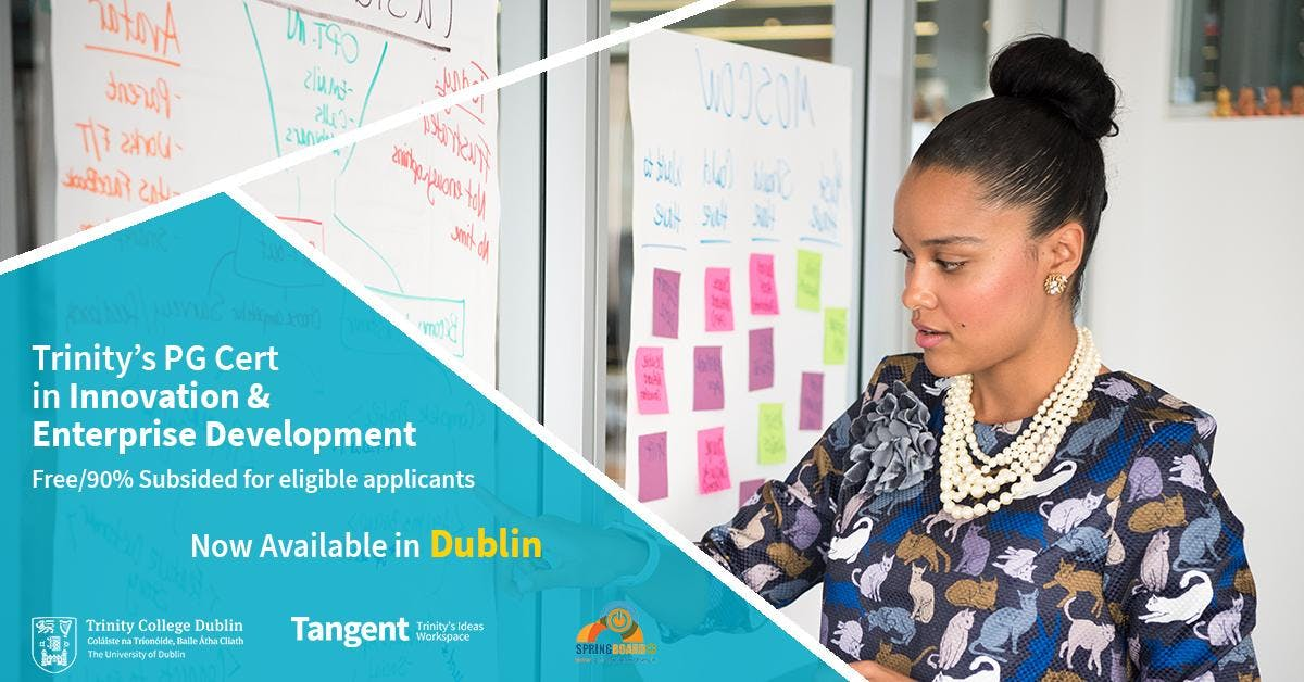 Information Evenings on Trinity's Postgraduate Certificate in Innovation and Enterprise Development (30 ETCS)
